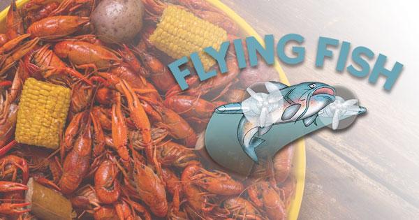 Flying fish catfish shrimp oysters crab gumbo po for Flying fish little rock menu